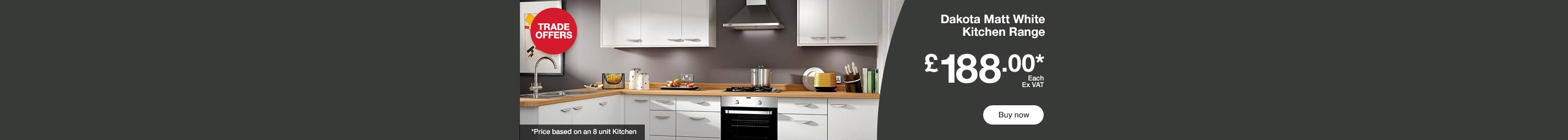 Dakota Kitchen Range £188.00