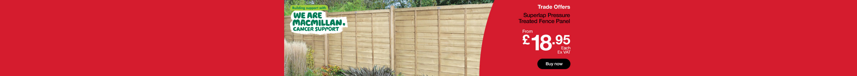Fence Panel from £18.95