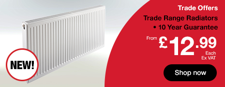 20% Off  Single and Double Panel Radiators