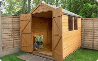 Garden sheds planning and advice