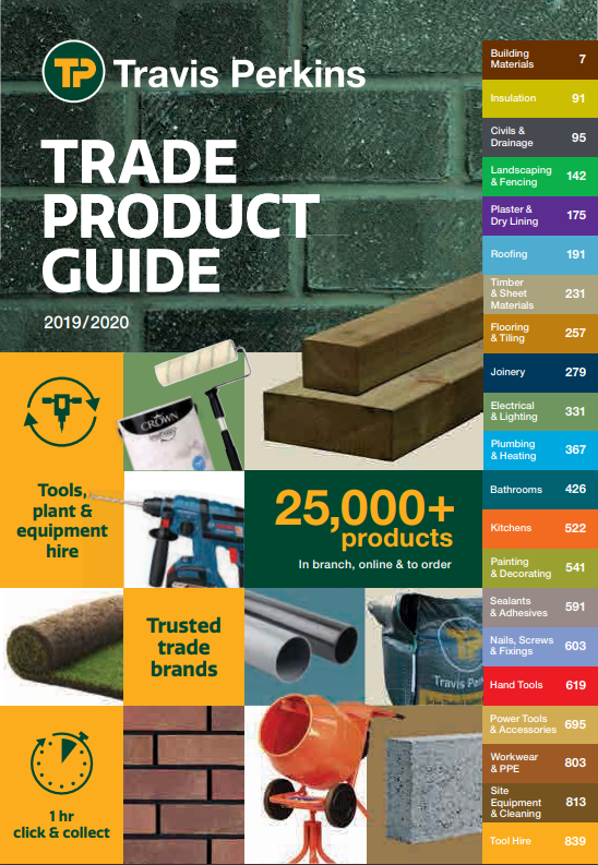 Trade Product Guide Brochure