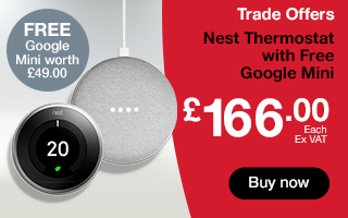 Nest Thermostat with free Google Mini