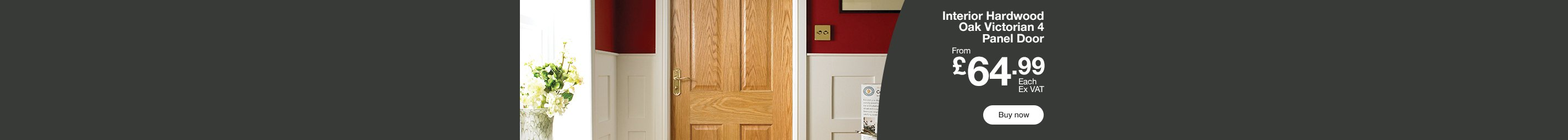 Interior Hardwood Doors £64.99